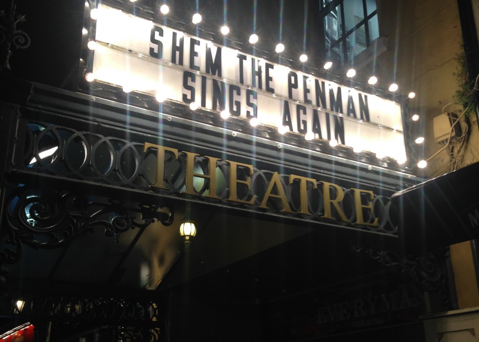 'Shem the Penman Sings Again' Cork Film Festival Screening 13th November 2015
